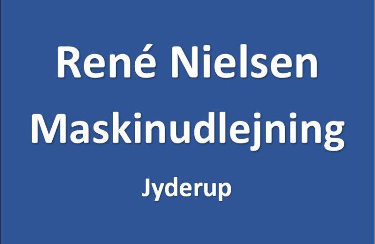 Rene Nielsen maskinudlejning - Midlertidigt